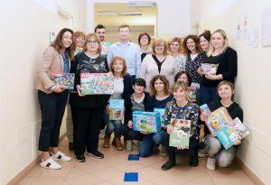 Donazione per la Neuropsichiatria infantile di Fiorenzuola