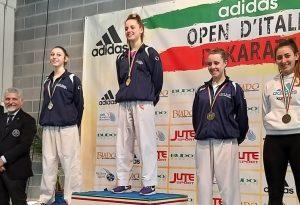 Oro per Martina Boselli e argento per Giulia Ghilardotti agli Open d'Italia