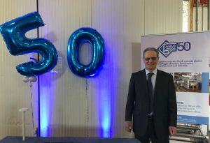 Gian Carlo Cavanna festeggia 50 anni di attività nell'imballaggio flessibile