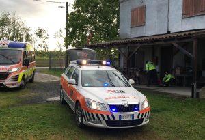 Caduta da alcuni metri, in elicottero a Parma: 76enne in gravi condizioni