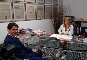 Alessandro Colombi, alla guida del Gruppo Corriere del Ticino, ospite di Nel Mirino