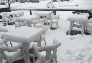 Piogge torrenziali e neve in collina: domenica invernale nel Piacentino