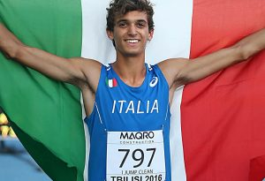 Anche il campione di salto in lungo Andrea Dallavalle a Zona Sport