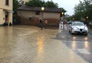 Calendasco inondata, a Sarmato scuole invase dall'acqua FOTO