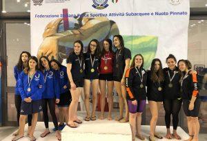 La Calypso fa il pieno di medaglie ai Campionati italiani Assoluti: due argenti e quattro bronzi