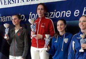 Scherma: Elena Perna si aggiudica il Trofeo di primavera a Bergamo