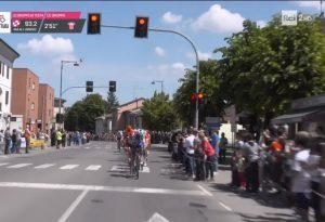 Giro d'Italia a San Nicolò e Rottofreno, entusiasmo tra i piacentini CORSA E TRAFFICO IN DIRETTA