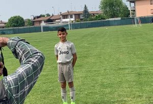 Anche CR7 Junior al Big Ball di Borgonovo. Domenica seconda giornata di partite