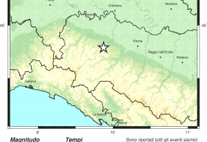 La terra trema sull'Appennino: scossa di terremoto a Vernasca. Nessun danno