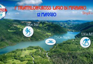 Triathlon: domenica scatta la gara di cross alla diga di Mignano
