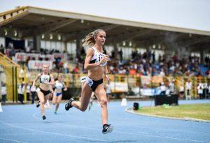 Sara Balordi da applausi: suo l'argento nei 400 metri ai Campionati italiani Allievi