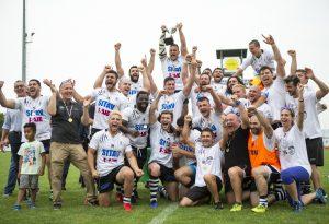Dopo la promozione in Top12, il titolo di campioni della serie A: Sitav Lyons, festa totale