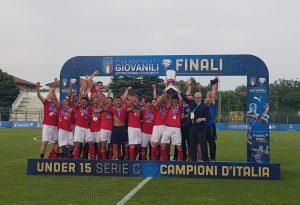 Semenza e doppio Turrà: in attesa del sogno serie B, il Piace diventa campione d'Italia con gli under 15