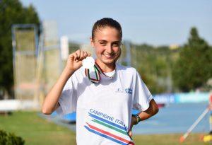 Impresa di Emma Casati: titolo italiano tra le Allieve nei 3mila metri