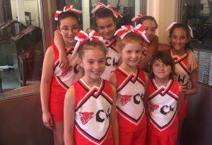 Danza e coreografie: anche Piacenza ha le sue cheerleaders