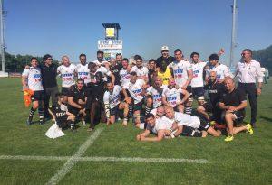 Lyons Rugby promossi in Top 12, al Beltrametti parte la grande festa