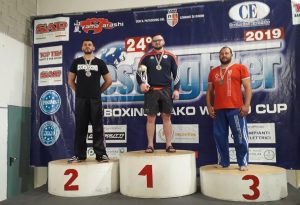 Gherasim non si ferma più: suo anche l'argento in Coppa del mondo