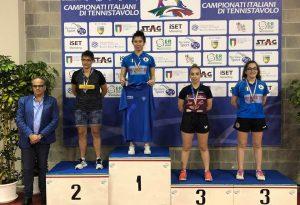Dopo l'oro nel doppio, Arianna Barani conquista anche il bronzo nel singolo