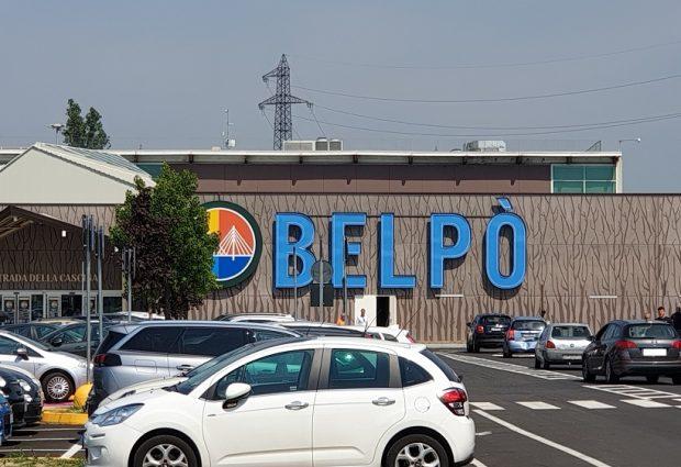 L'Auchan si rifà il look: taglio del nastro per il centro commerciale Belpò