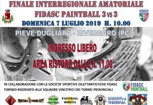 Paintball: domani la finale interregionale di Emilia Romagna e Marche