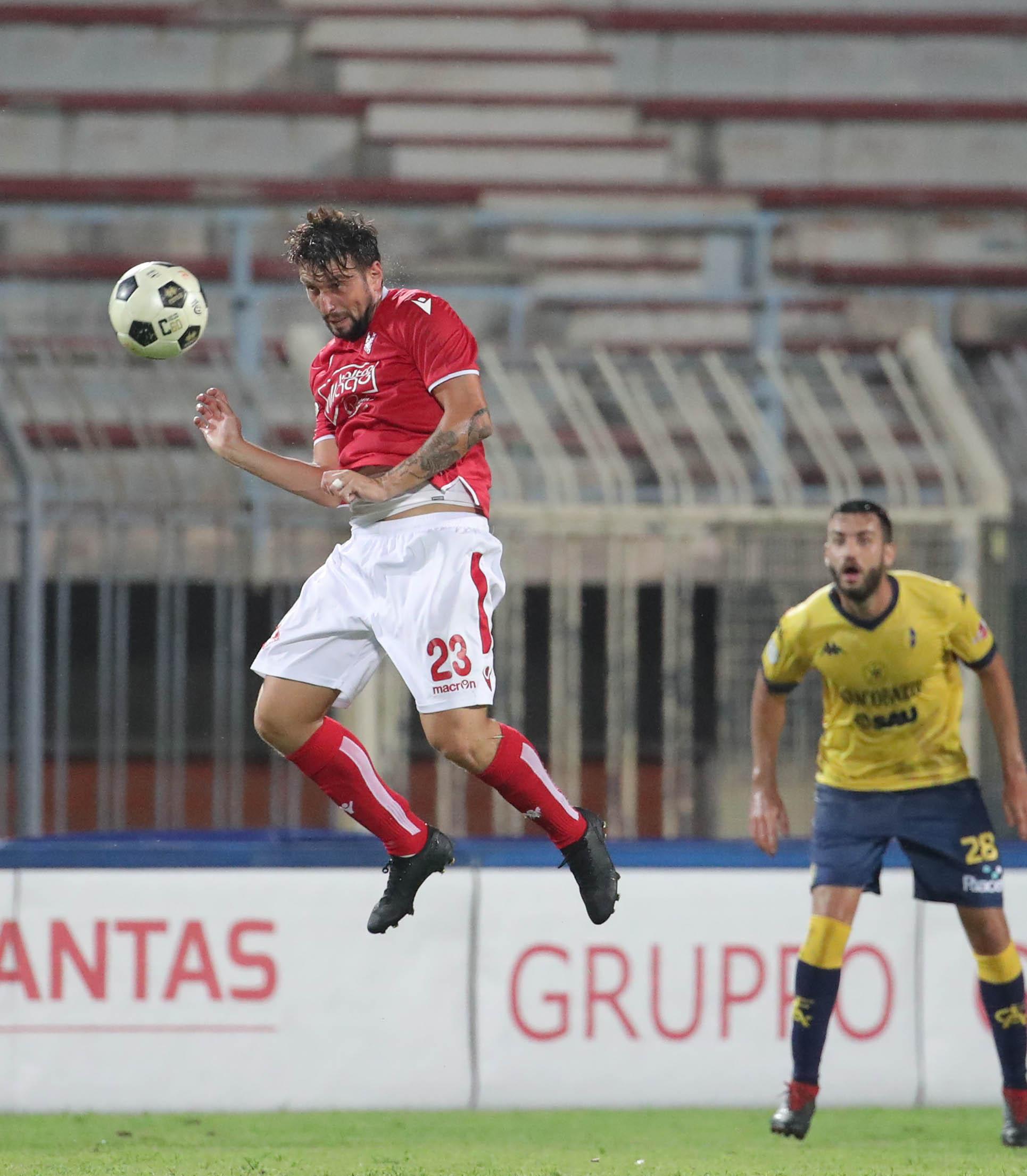 Al riposo con i biancorossi sotto di un gol. Triestina-Piacenza 1-0