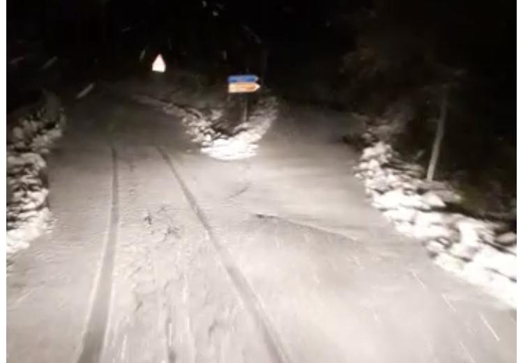 Maltempo, allerta arancione. Nevica a Ferriere, attivato a Piacenza il Centro di Protezione civile - Libertà