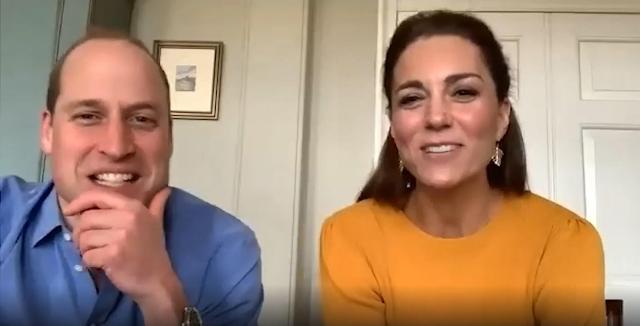 Will e Kate parlano in video con bimbi