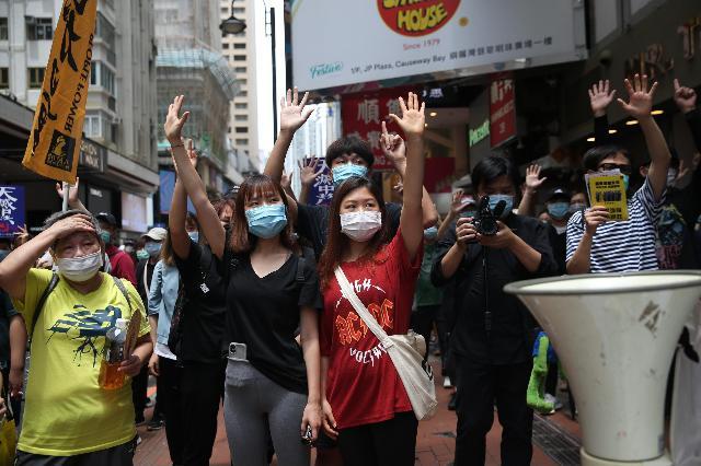 Hong Kong: raduni contro legge Cina – Liberta.it