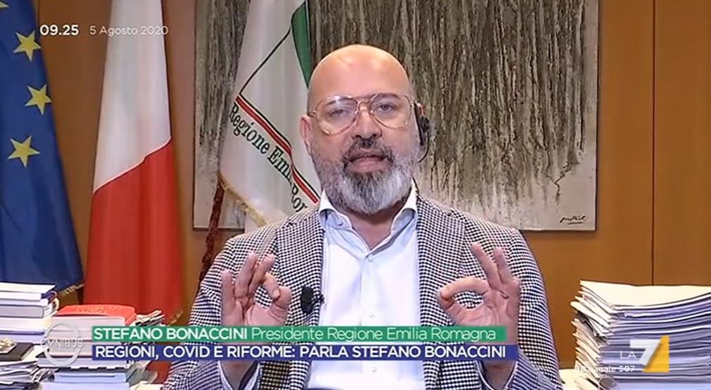 Bonaccini annuncia: