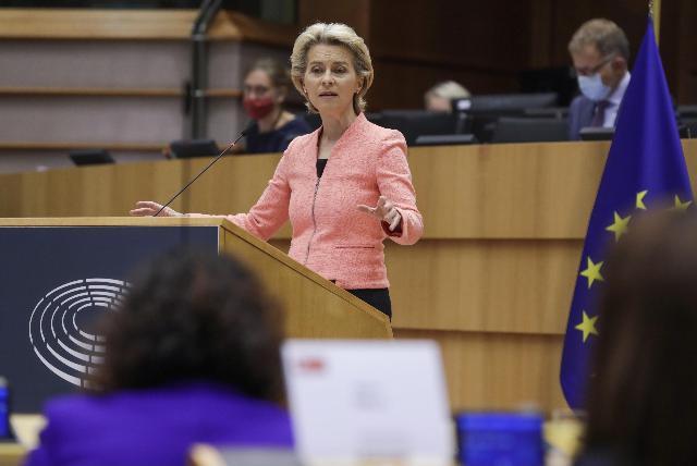 Lo stato dell'UE secondo Ursula von der Leyen
