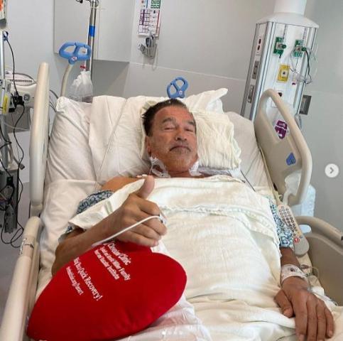 Arnold Schwarzenegger operato al cuore - Ultima Ora